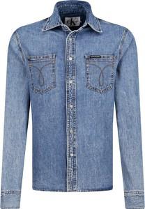 Koszula Calvin Klein z długim rękawem w stylu casual