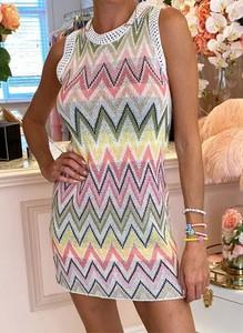 Sukienka Arilook w stylu casual z okrągłym dekoltem