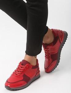 Born2be czerwone buty sportowe all rounds on me