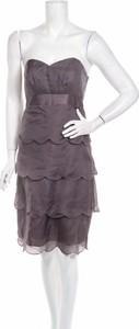 Fioletowa sukienka John Lewis mini bez rękawów