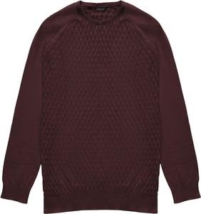 Sweter Borgio z okrągłym dekoltem