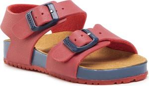 Czerwone buty dziecięce letnie GARVALIN