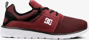 Czerwone buty sportowe DC