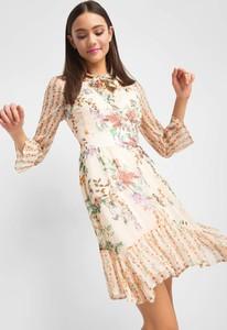 660afc6ffbcc6 Sukienka ORSAY z tkaniny asymetryczna w stylu boho