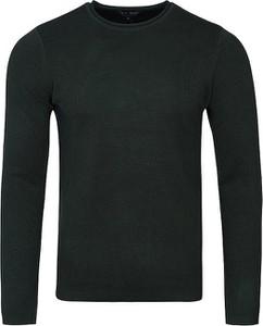 Sweter Emporio Armani z okrągłym dekoltem z bawełny
