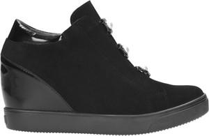 Sneakersy Wojas ze skóry