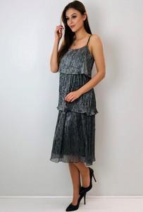 Sukienka N/A midi na ramiączkach