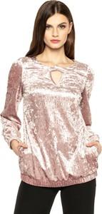 Różowa bluzka L'AF z długim rękawem