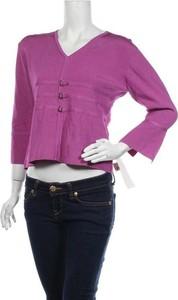 Fioletowa bluzka Stitches Australia z długim rękawem