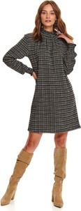 Sukienka Top Secret koszulowa z długim rękawem mini