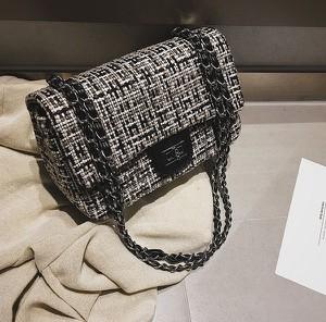 Torebka Papaya Atelier na ramię w stylu glamour
