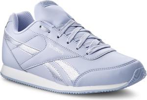 Buty sportowe Reebok w stylu casual ze skóry ekologicznej sznurowane