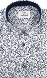 Koszula Viadi Polo z krótkim rękawem w młodzieżowym stylu z bawełny