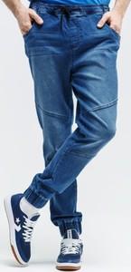 Niebieskie spodnie sportowe Feewear