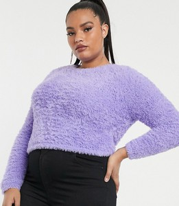 Fioletowy sweter Asos