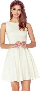 Sukienka NUMOCO mini z żakardu bez rękawów