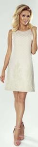 Sukienka Imesia mini bez rękawów z okrągłym dekoltem