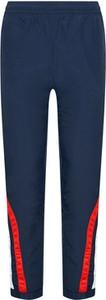 Niebieskie spodnie sportowe Champion z dresówki w sportowym stylu