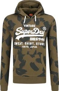 Zielona bluza Superdry