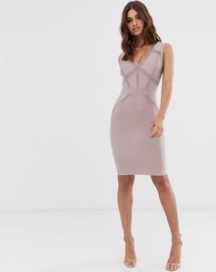 Fioletowa sukienka Lipsy