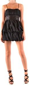Czarna sukienka Pinko bez rękawów mini