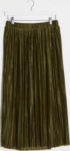 Zielona spódnica Vero Moda midi