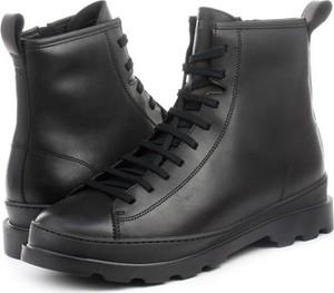Buty zimowe Camper w stylu casual sznurowane