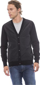 Czarny sweter Verri w stylu casual z wełny