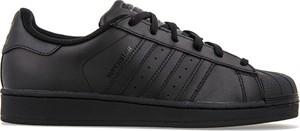 Czarne trampki dziecięce Adidas