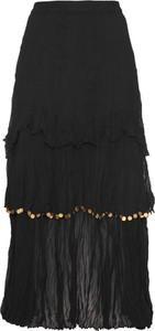Czarna spódnica bonprix bpc selection premium maxi