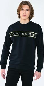 Czarna bluza Big Star w młodzieżowym stylu