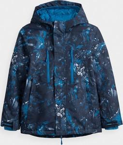 Granatowa kurtka dziecięca 4F