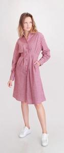 Różowa sukienka Selaya midi