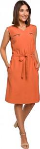 Pomarańczowa sukienka Style