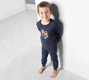 Niebieska piżama Tchibo z bawełny