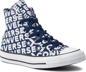Trampki Converse z płaską podeszwą w stylu casual