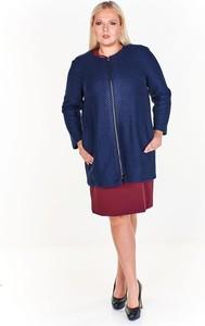 Płaszcz Fokus w stylu klasycznym z wełny