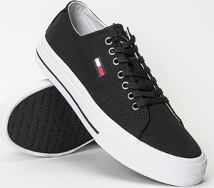 Tenisówki męskie Tommy Jeans Long Lace Up Vulc (EM0EM00659-BDS)