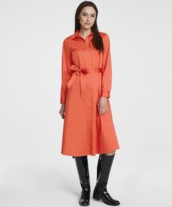 Sukienka Heine midi z długim rękawem w stylu casual