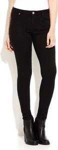 Czarne jeansy WARESHOP w street stylu z jeansu