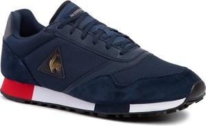 Niebieskie buty sportowe Le Coq Sportif sznurowane