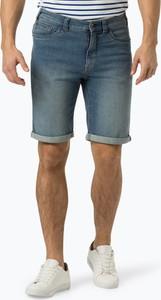 Niebieskie spodenki Nils Sundström z jeansu
