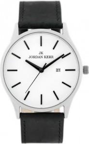 ZEGAREK MĘSKI JORDAN KERR - SS265 Czarny   Srebrny