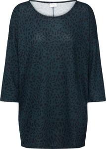 Bluzka JACQUELINE DE YONG z okrągłym dekoltem z długim rękawem