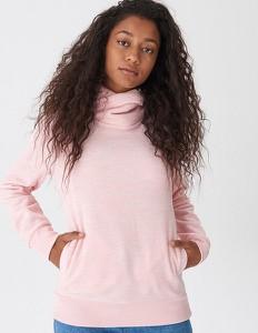Różowa bluza House krótka w młodzieżowym stylu