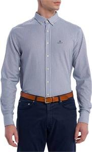 Koszula Gant z długim rękawem z kołnierzykiem button down