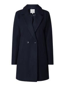 Granatowy płaszcz Ichi w stylu casual