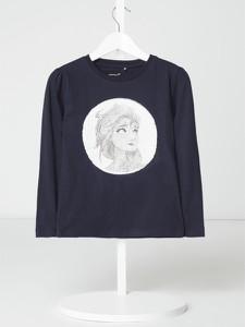Granatowa bluza dziecięca Name it z bawełny