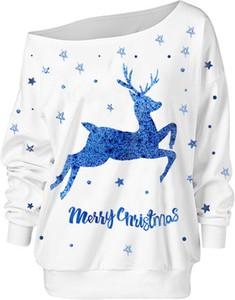 Bluza Sandbella w bożonarodzeniowy wzór