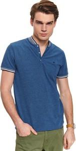 T-shirt Top Secret w stylu casual z krótkim rękawem